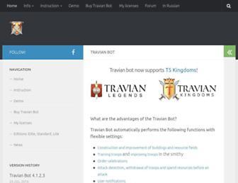 travibot.com screenshot