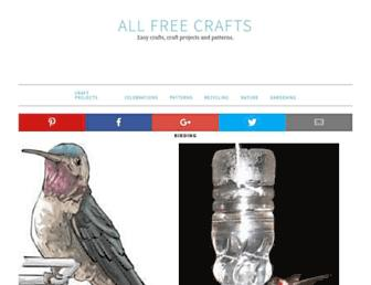 Thumbshot of Allfreecrafts.com