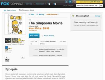 Thumbshot of Simpsonsmovie.com