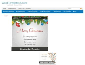 wordtemplatesonline.net screenshot