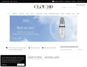 Thumbshot of Cloud10beauty.com