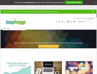 leapfroggr.com screenshot