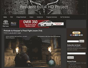 re4hd.com screenshot
