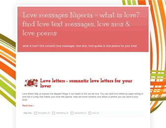 lovemessages.com.ng screenshot