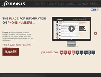 Thumbshot of Faveous.com
