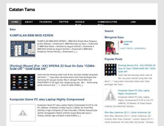 catatantama8.blogspot.com screenshot