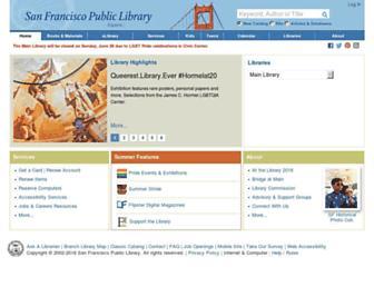 Thumbshot of Sfpl.org