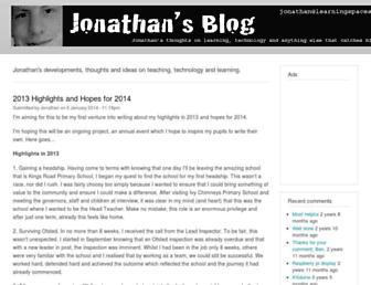 jonathansblog.net screenshot