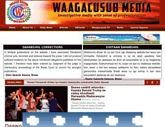 Thumbshot of Waagacusub.info