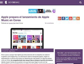 soydemac.com screenshot
