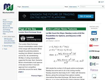 marketswiki.com screenshot
