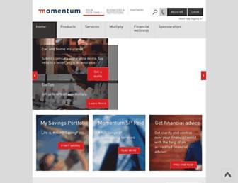 momentum.co.za screenshot