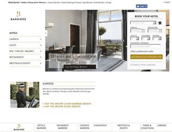 Thumbshot of Lucienbarriere.com
