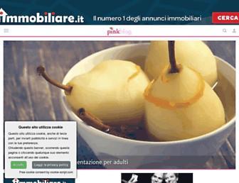 Main page screenshot of pinkblog.it