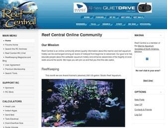 reefcentral.com screenshot