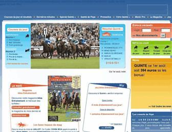 infos-entrainement.fr screenshot