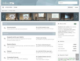 forum.mikrotik.com screenshot