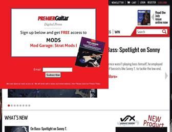 premierguitar.com screenshot