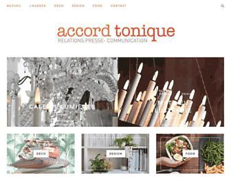 accord-tonique.com screenshot