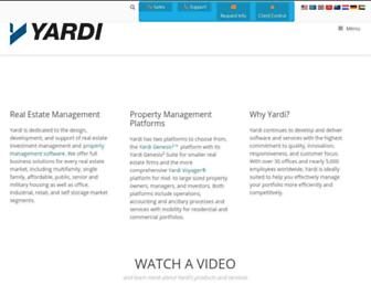 Thumbshot of Yardi.com