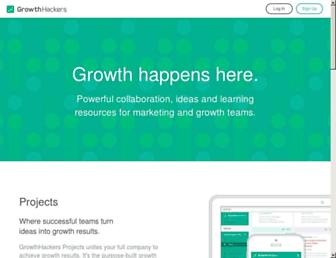 Thumbshot of Growthhackers.com