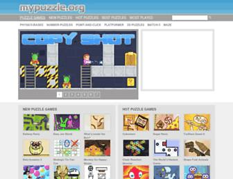 mypuzzle.org screenshot