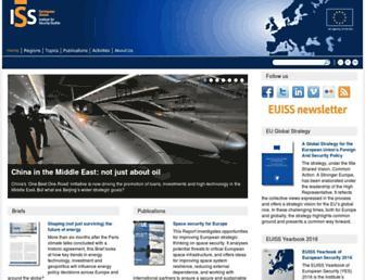iss.europa.eu screenshot