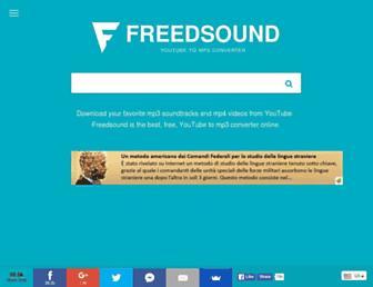 Thumbshot of Freedsound.com