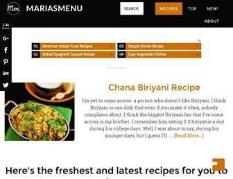 Thumbshot of Mariasmenu.com