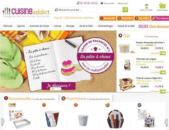 cuisineaddict.com screenshot