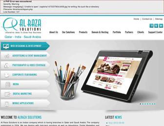 alraza.com screenshot