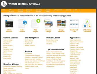 support.website-creator.org screenshot