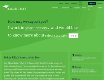 bakertilly.com screenshot