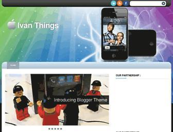 ivanthings.blogspot.com screenshot