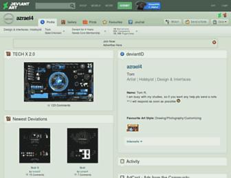 azrael4.deviantart.com screenshot