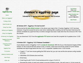 egghelp.org screenshot