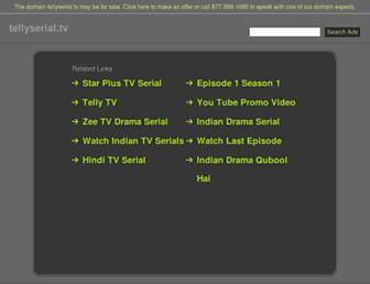 Thumbshot of Tellyserial.tv