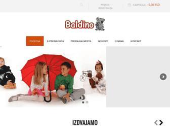 baldino.rs screenshot