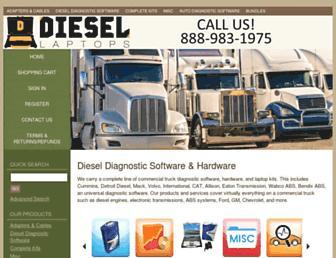 diesellaptops.com screenshot