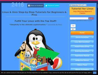 tutorialforlinux.com screenshot