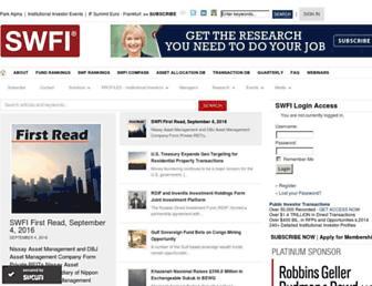 swfinstitute.org screenshot