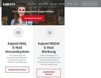 Main page screenshot of kjm1.de