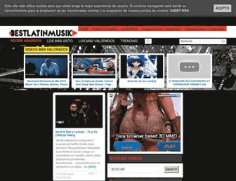 bestlatinmusik.com screenshot