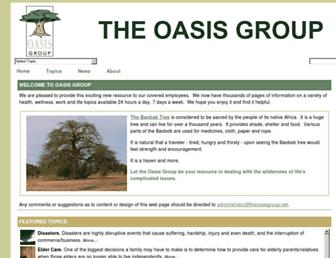 theoasisgroup.net screenshot