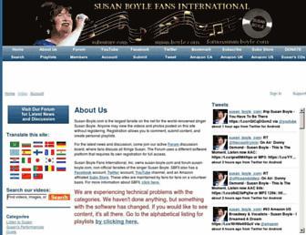 susan-boyle.com screenshot