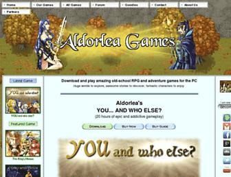 aldorlea.org screenshot