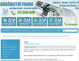 Thumbshot of Zamecnictvipraha.cz
