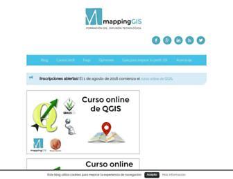 mappinggis.com screenshot