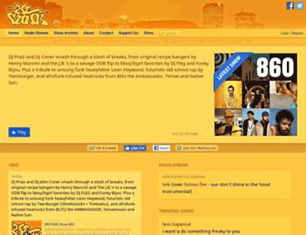 wefunkradio.com screenshot