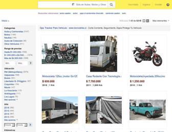vehiculos.mercadolibre.cl screenshot